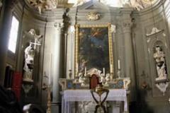 Kaplica św. J. Gwalberta w klasztorze Vallombrosa