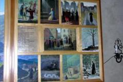 Sceny z życia  św. J. Gwalberta  - Vallombrosa