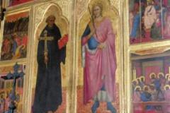 Ołtarz św. Jana Gwalberta - Florencja (S. Miniato)