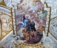 Gloria św. J. Gwalberta z kaplicy klasztornej w Vallombrosa