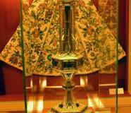 Relikwiarz św. J. Gwalberta z klasztoru w Vallombrosa