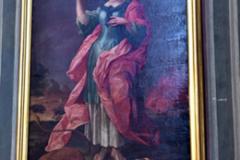 Obraz św. Tekli z kościoła św. Paulinów we Włodawie