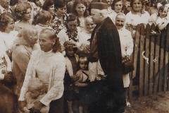Z uroczystości obchodów 600-lecia Diecezji Przemyskiej w roku 1977