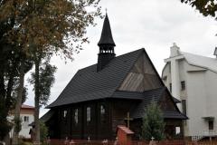 Obecny wygląd kościoła drewnianego w Stanach.