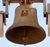 """Dzwon z roku 1994 """"Jezus Józef Maryja"""""""
