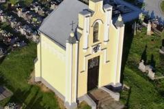 Aktualny wygląd kaplicy cmentarnej.