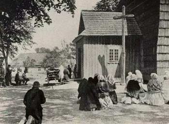 Old church  from  1802  foto z 1915 r.  Staatsbibliothek zu Berlin - PK