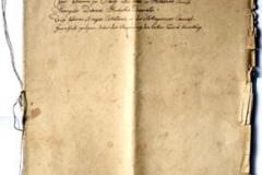 Jeden z najstarszych inwentarzy dotyczący uposażenia parafii Stany, sporządzony w 1821 r. w języku niemieckim. Przepisany przez ks. Bernarda Birkenmajera w  r. 1867.