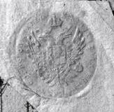 Pieczęć władz austriackich z 1821 r.