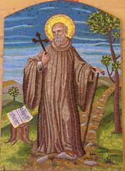 Mozaika z klasztoru Badia a Passignano