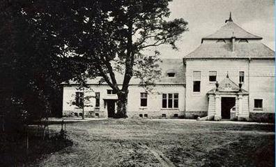 Pałac Komorowskich, fot.  ze zbiorów Staatsbibliothek zu Berlin ? PK wyk. ok. r. 1915/1916